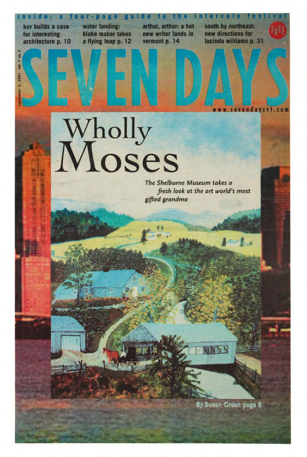 Seven Days, September 5, 2001 by Seven Days issuu