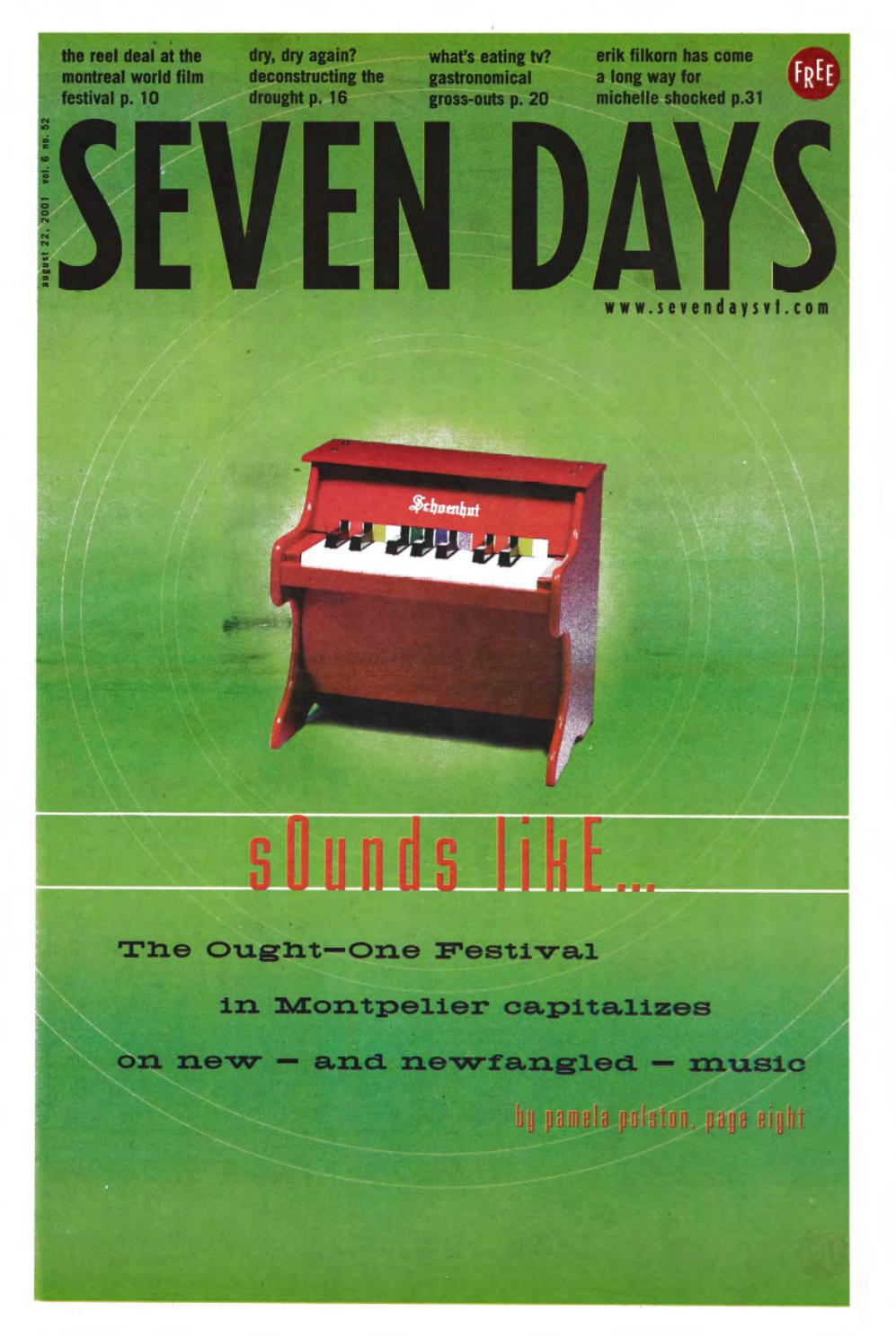 Seven Days August 22 2001 by