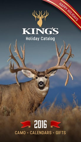 ca7a505adf940 King's 2016 Holiday Gift Catalog by King's Camo - issuu