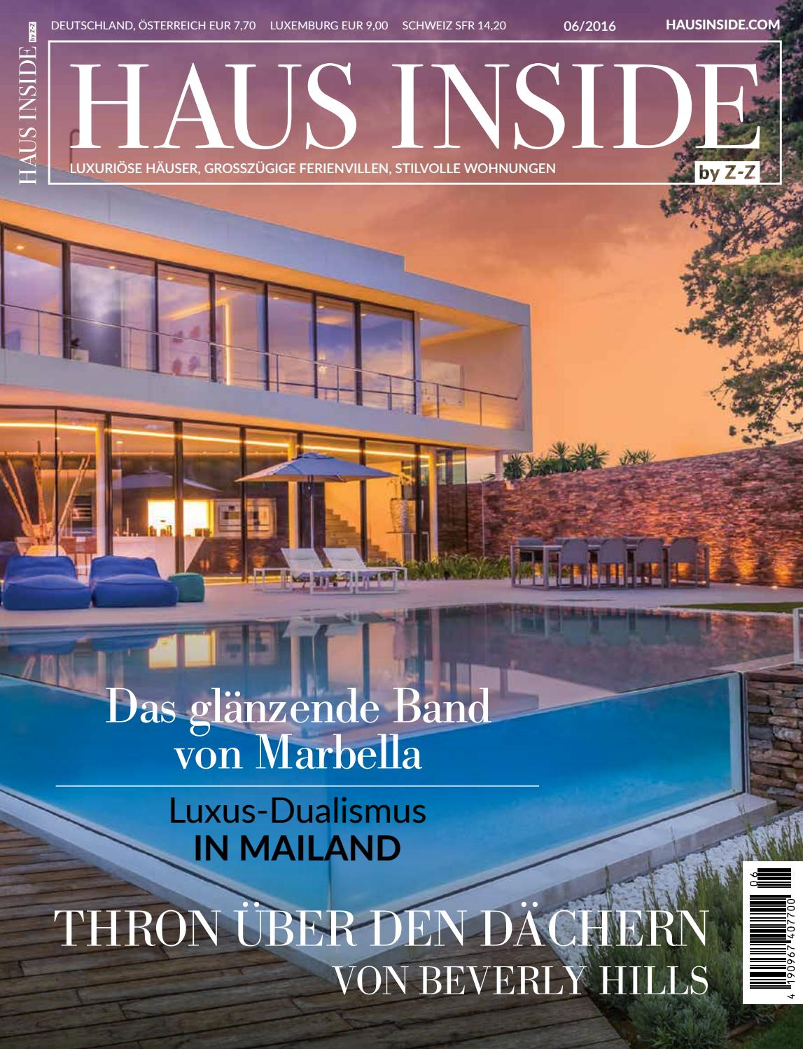 HAUS INSIDE by Z-Z 06/2016 by HAUS INSIDE - issuu
