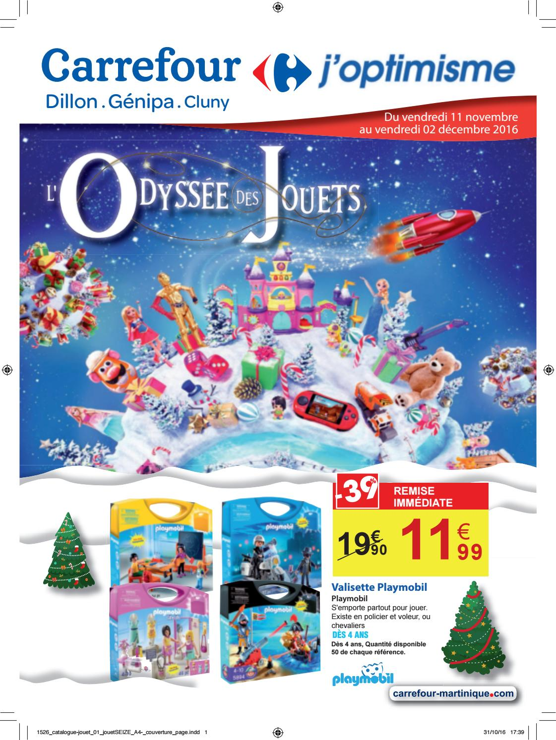 carrefour l 39 odyss e des jouets du 11 novembre au 02. Black Bedroom Furniture Sets. Home Design Ideas