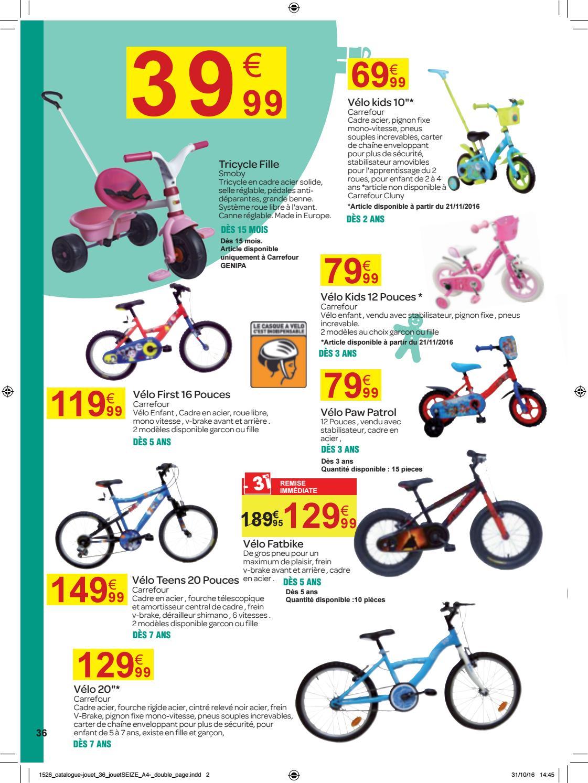 Carrefour l 39 odyss e des jouets du 11 novembre au 02 - Carrefour velo femme ...