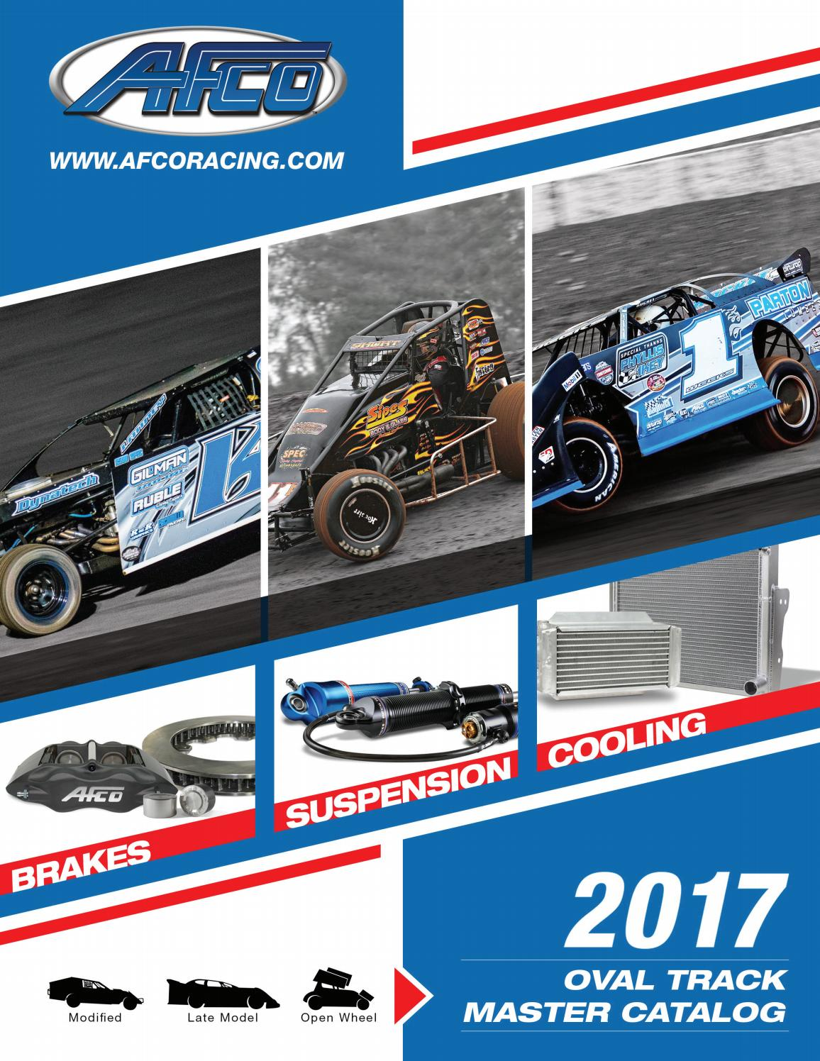 Afco Racing Products 20191 Adjustable Coil Spring Spacer 2 in Thick