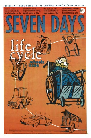 Seven Days July 25 2001 By Seven Days Issuu