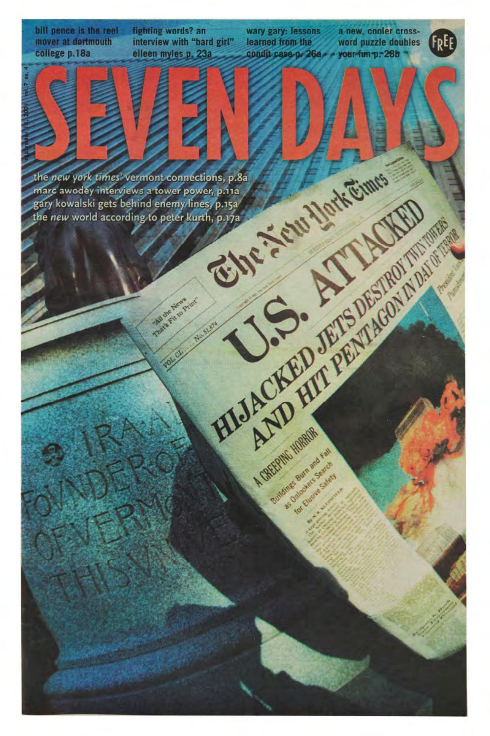 Seven Days September 19 2001 by