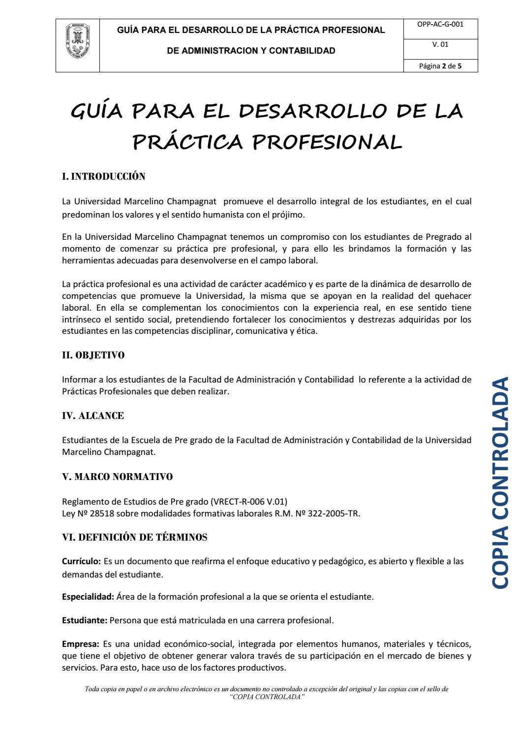GUIA DE PRACTICA ADMINISTRACIÓN Y CONTABILIDAD by UNIVERSIDAD ...