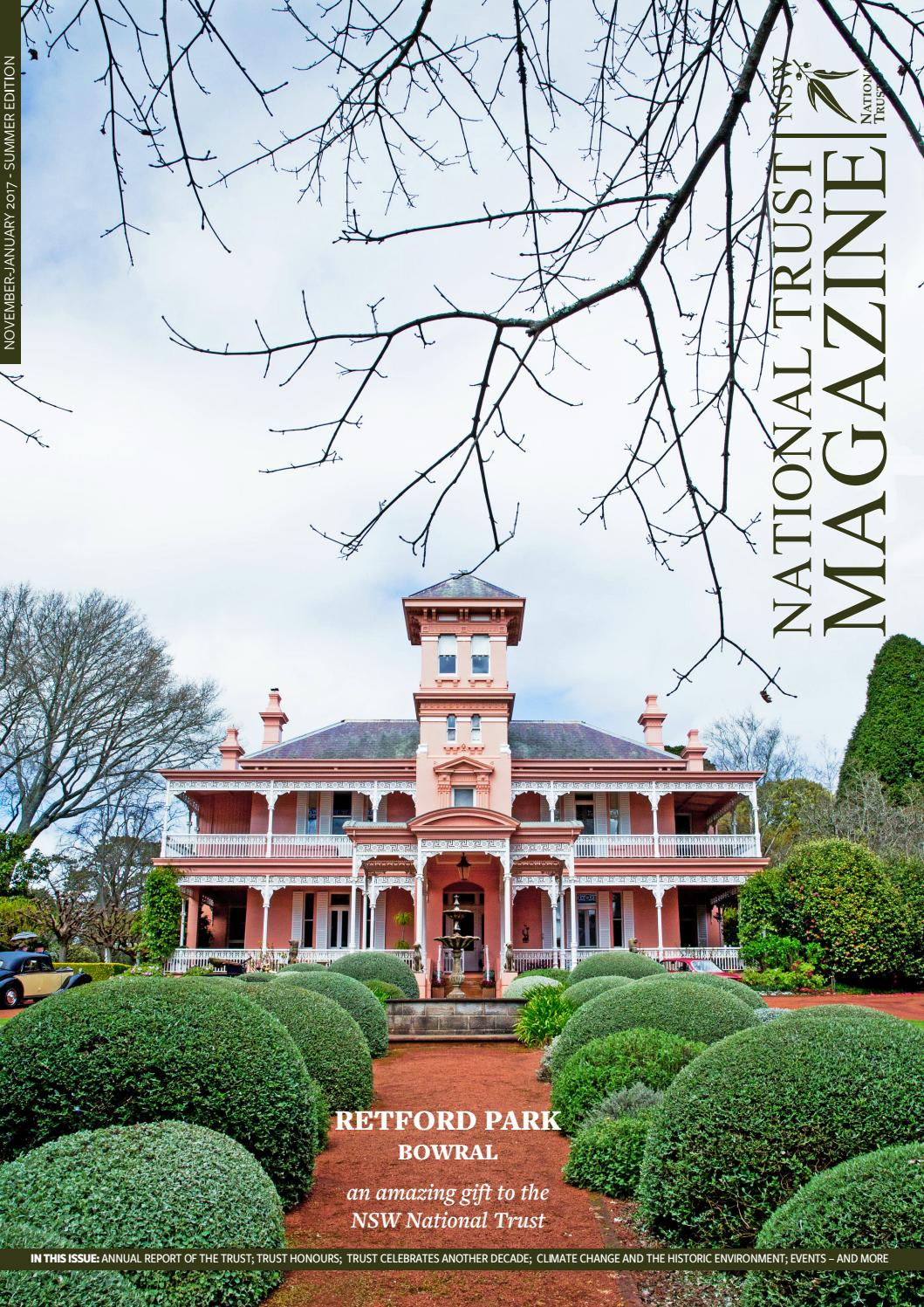 National Trust NSW Magazine Summer 2016/17 by National Trust