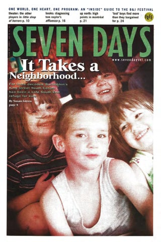 Seven Days, June 20, 2001 by Seven Days - issuu