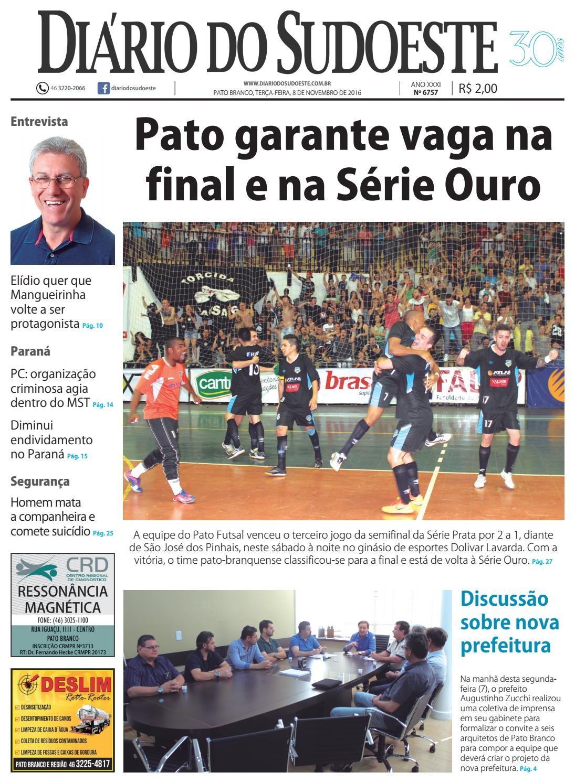 Diário do sudoeste 08 de novembro de 2016 ed 6757 by Diário do Sudoeste -  issuu cb2cd4a4218da