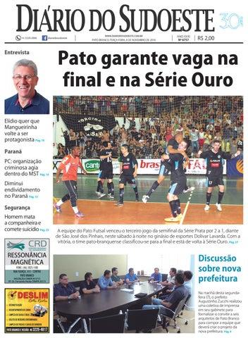 a854a07efd Diário do sudoeste 08 de novembro de 2016 ed 6757 by Diário do ...