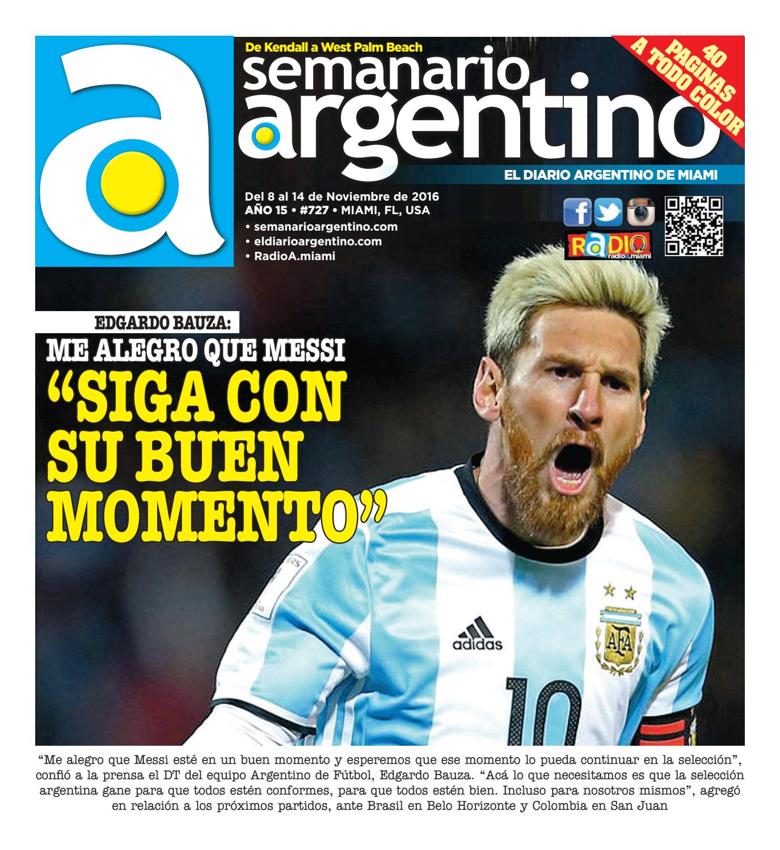 9ac1871555918 Semanario 727 by Semanario Argentino - issuu