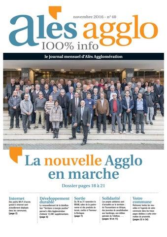 Alès Agglo n°40 - Novembre 2016 by Alès Agglomération - issuu 3d4348605c2