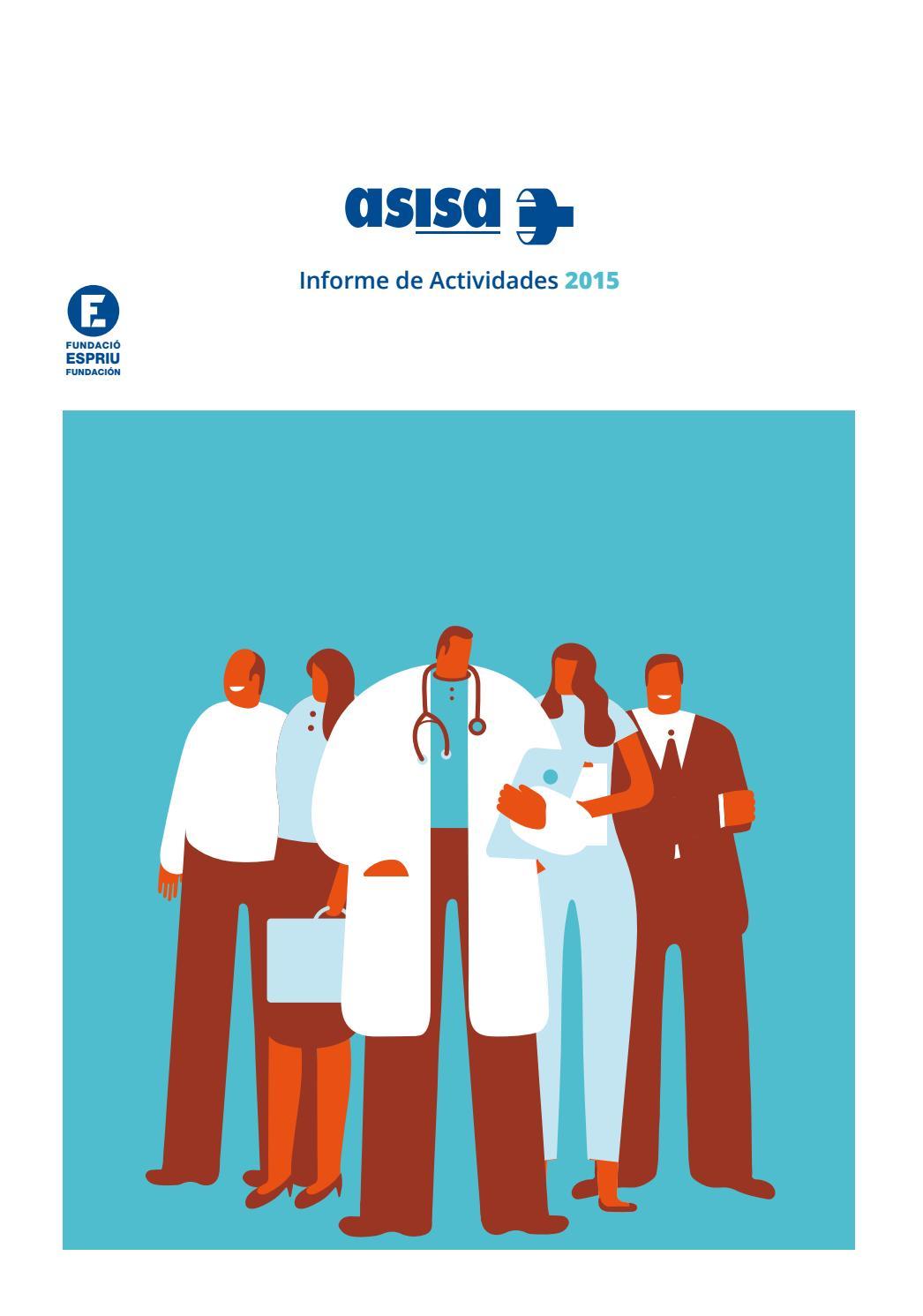 Informe actividad asisa 2015 by GRUPO ASISA - issuu