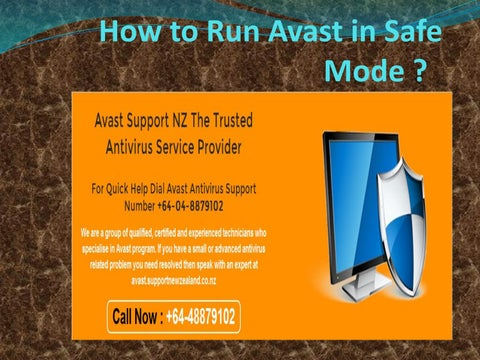 avast not working in safe mode