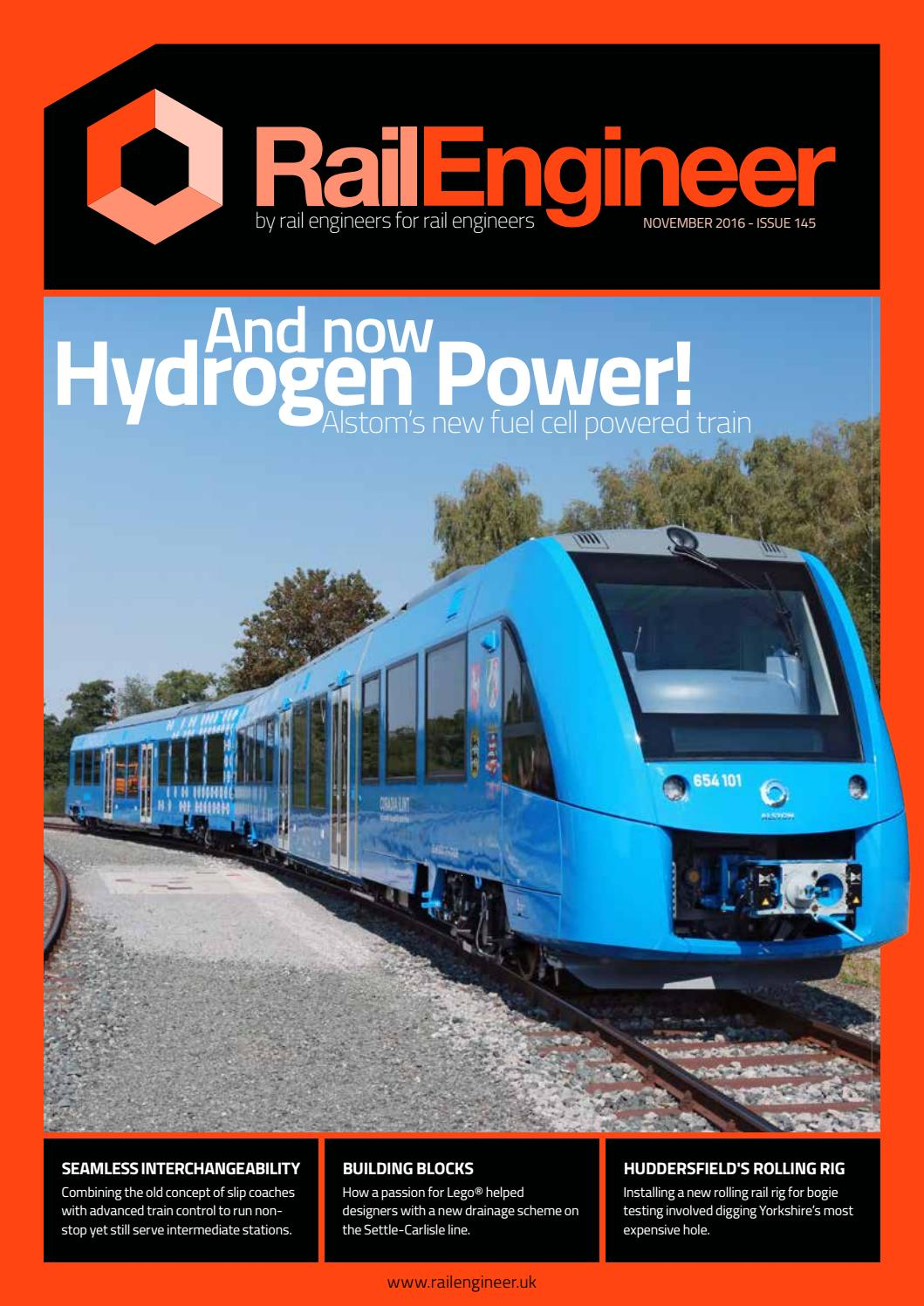 f425df3a0432 Rail Engineer - Issue 145 - November 2016 by Rail Media - issuu