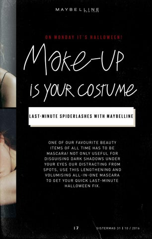 Page 17 of Make-Up Is Your Costume