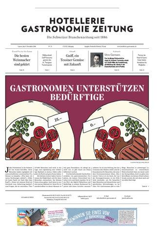 Hg Zeitung 312016 By Hotelleriegastronomieverlag Issuu