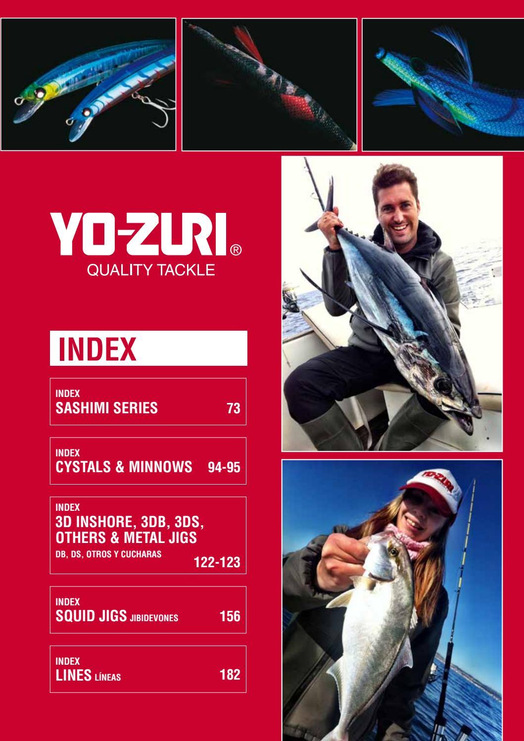 """Yo-zuri F1148-C5 Crystal 3D Minnow Red Head Sinking 90 mm 3 1//2/"""" leurre"""