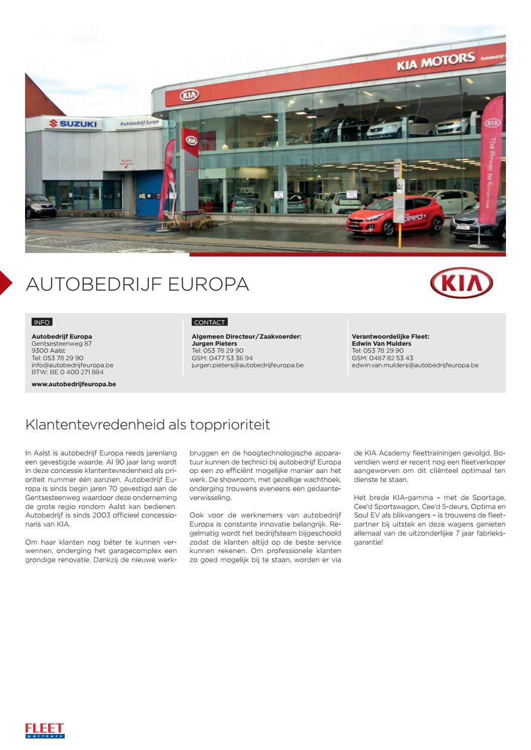 Fleet Partners Vlaanderen 2016 By Effective Media Issuu