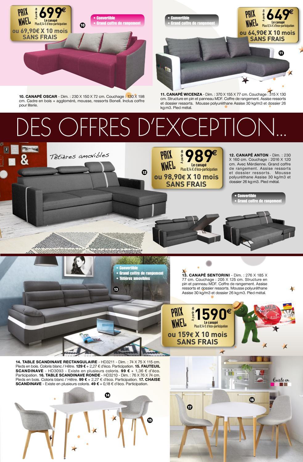 Mousse Polyuréthane 30 Kg M3 Canapé catalogue domia dÉcembre 2016domia - issuu