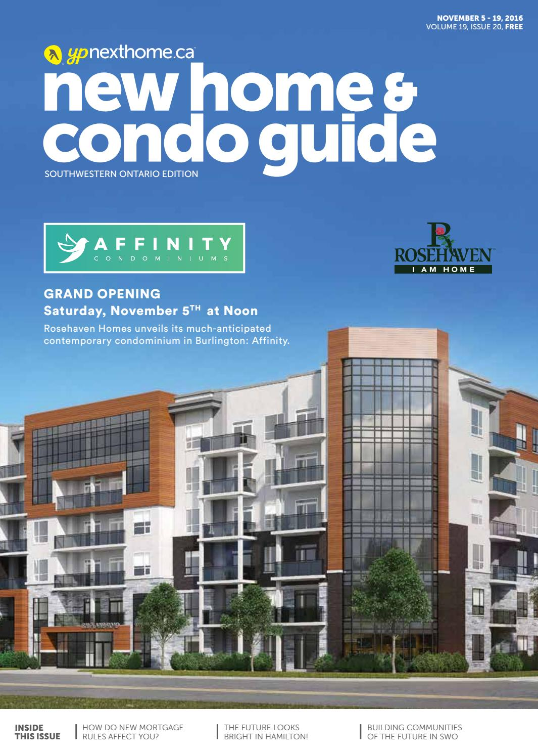 Southwestern Ontario New Home and Condo Guide - Nov 5, 2016 by ...