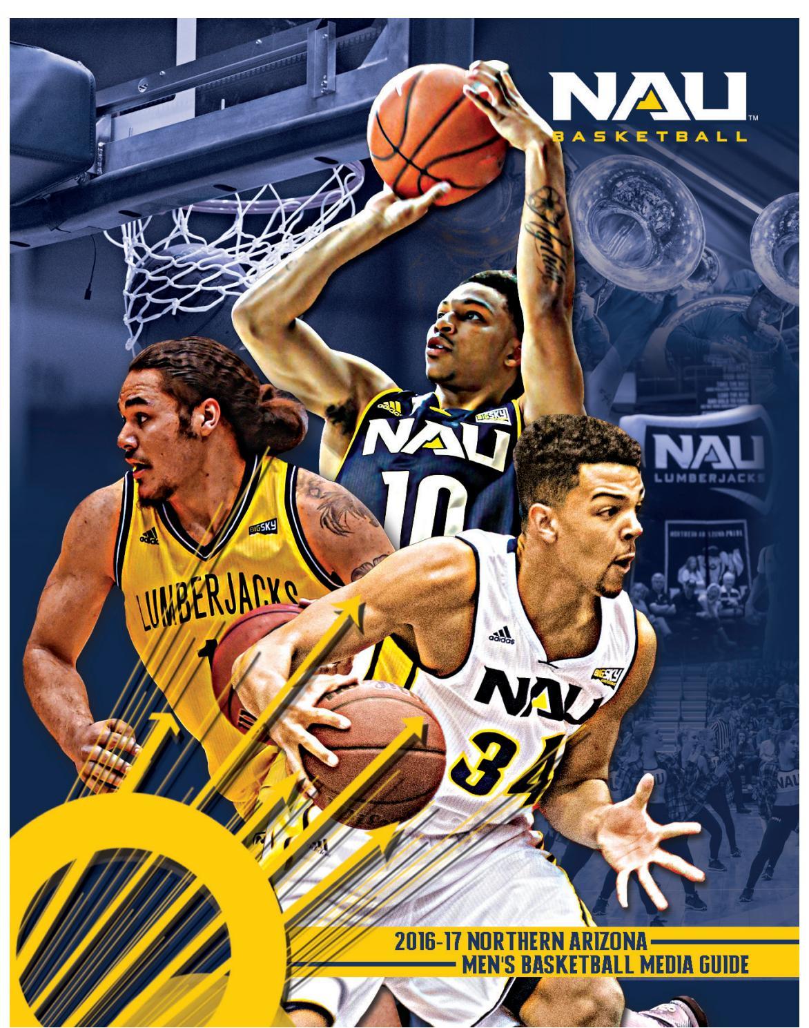 8f168db54e96 2016-17 NAU Men s Basketball Media Guide by NAU Athletics - issuu