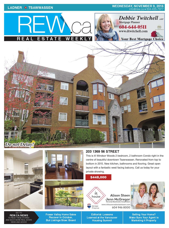realtor and interior designer debbie evans realtor interior design consultant remax west LADNER - TSAWWASSEN Nov 9, 2016 Real Estate Weekly by Real Estate Weekly -  issuu