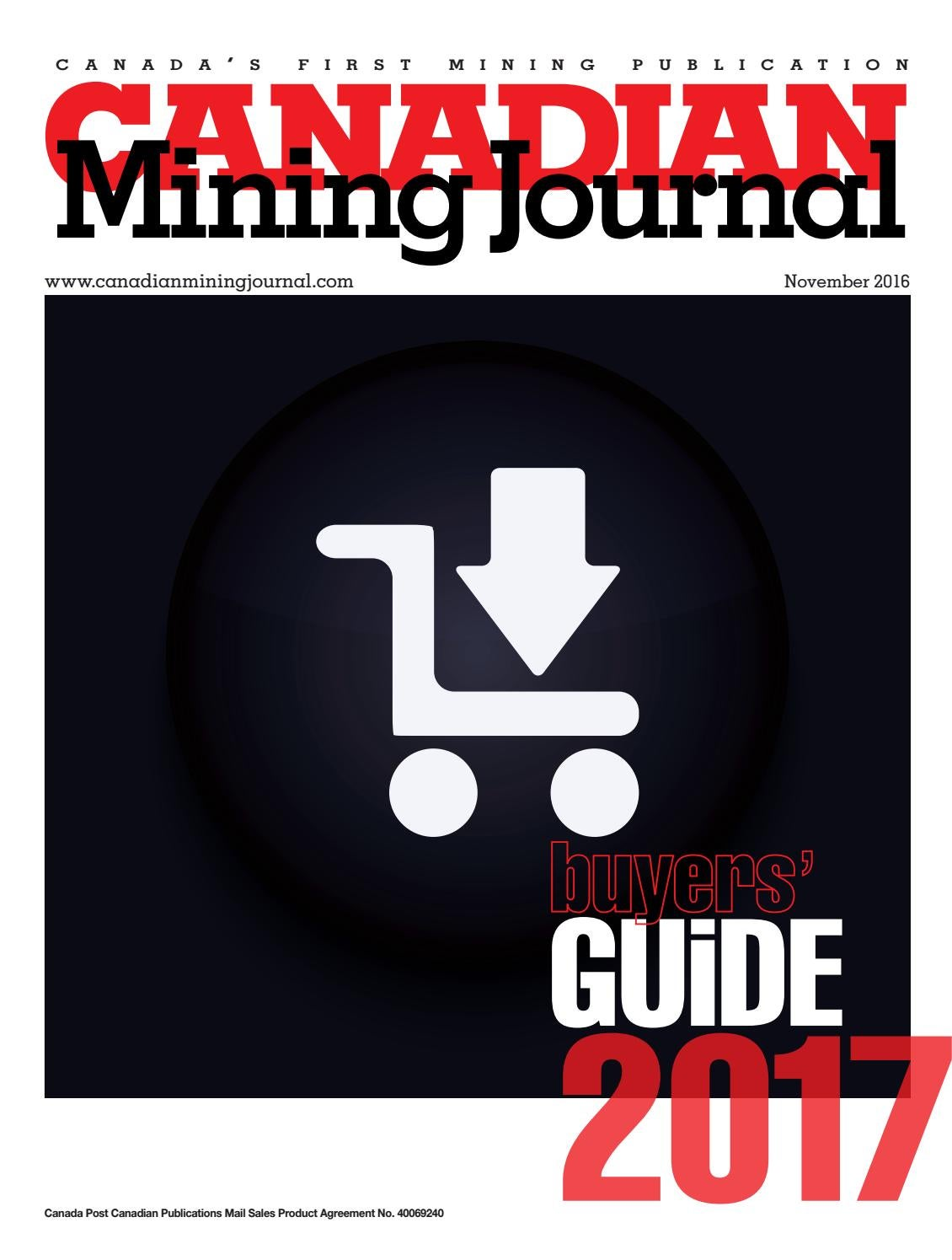 Canadian Mining Journal Buyers Guide 2017 By The Northern Miner Wicdon39t Be Shockedground Fault Circuit Interrupter Group Issuu