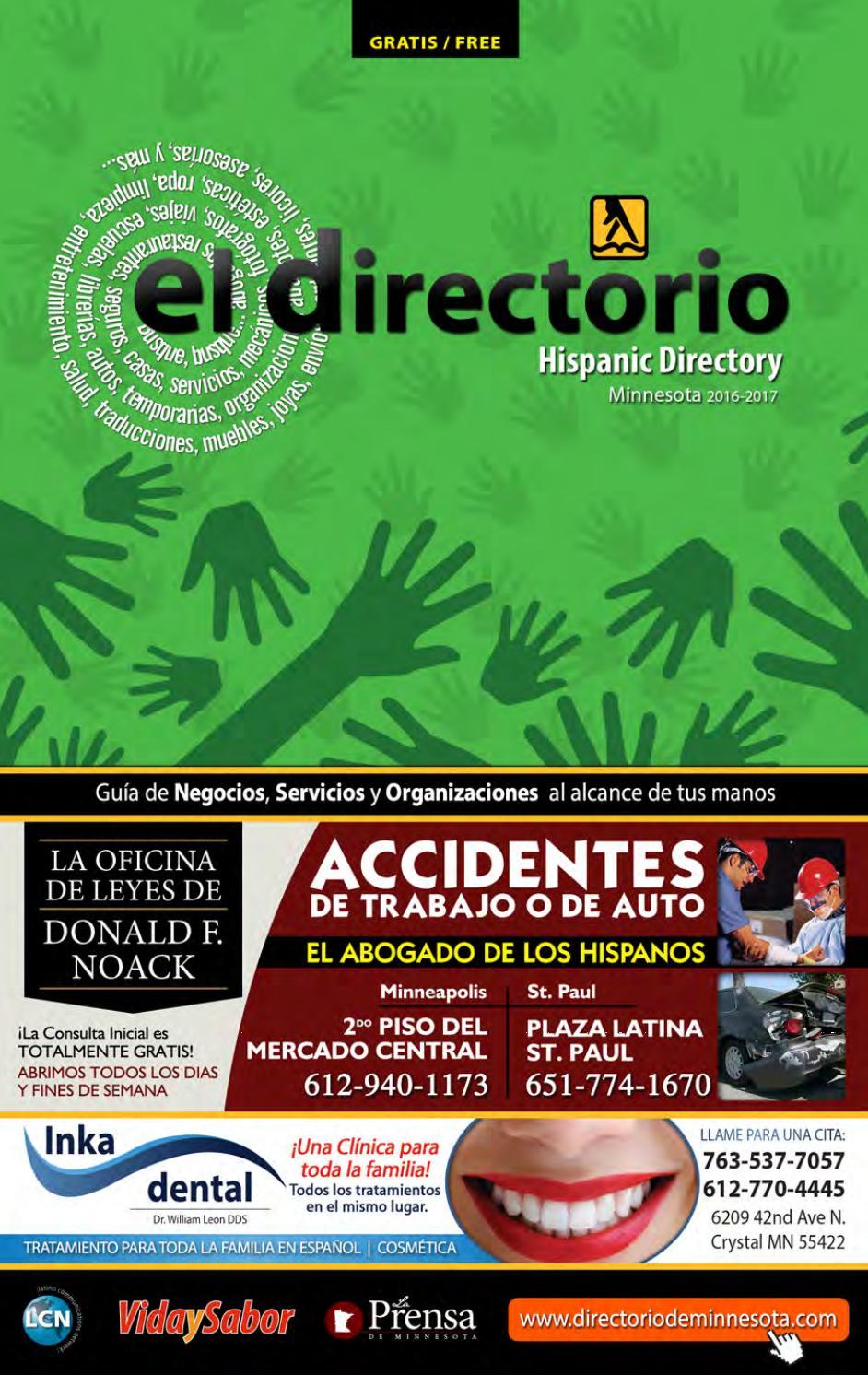 El Directorio - Minnesota Hispanic Directory 2016-2017 by Latino ...