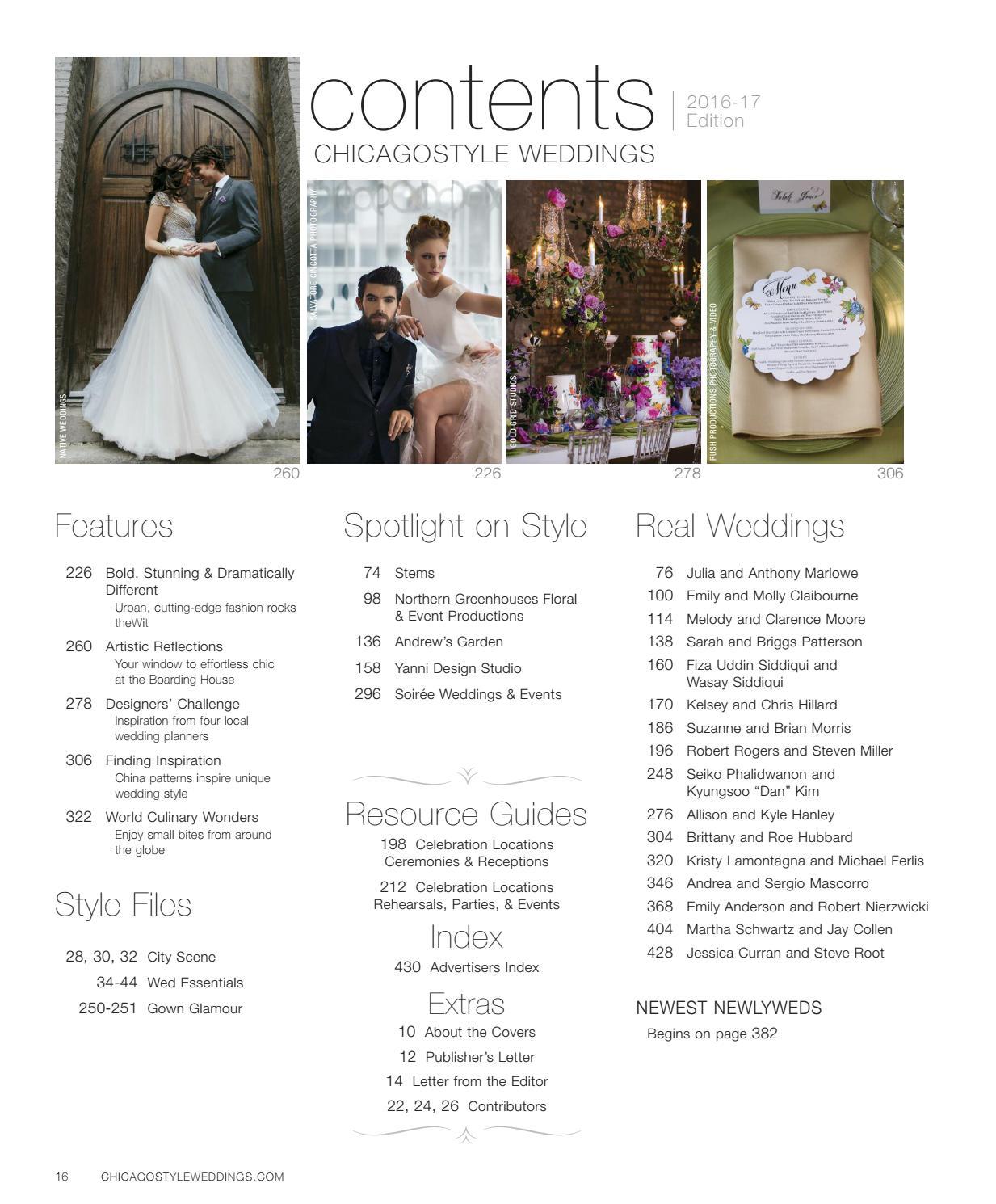 ChicagoStyle Weddings 2016-2017 by ChicagoStyle Weddings - issuu