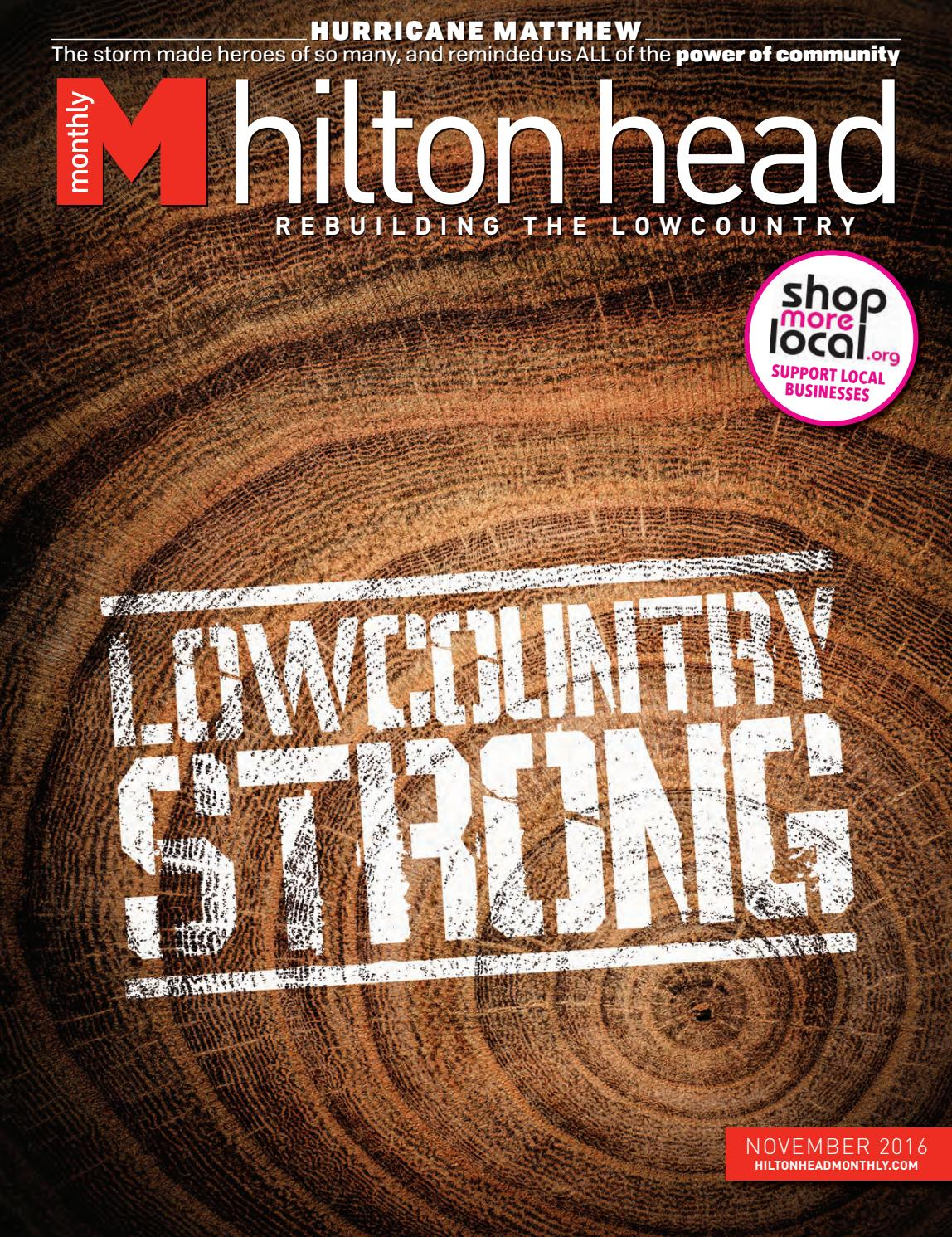 Hilton Head Monthly November 2016 By Hilton Head Monthly Issuu