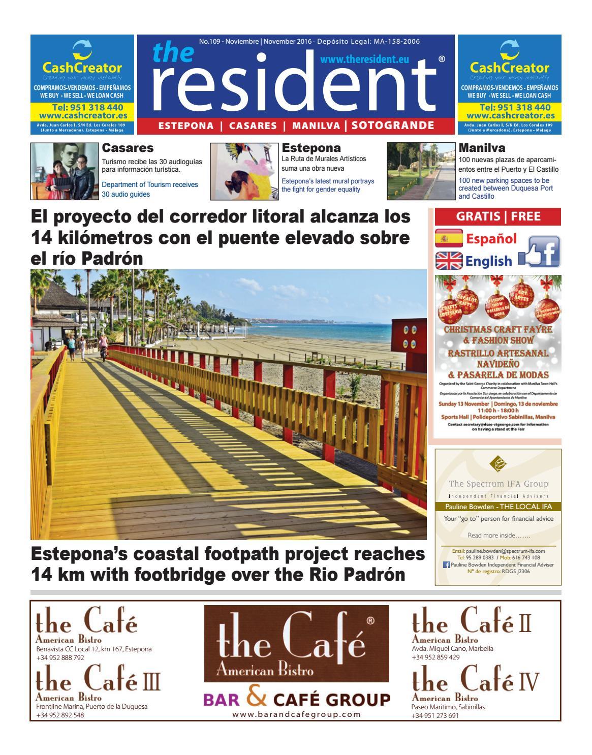The Resident November 2016 by Manilva Media Workshop SLL - issuu