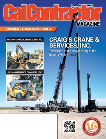 CalContractor Owner Operator Issue 2016 by CMS - issuu