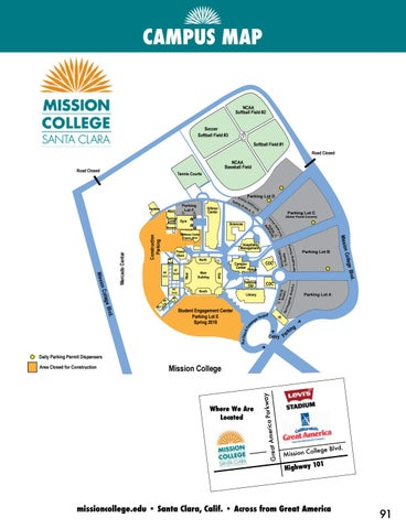 2017 Mission College Winter & Spring Schedule by Mission College