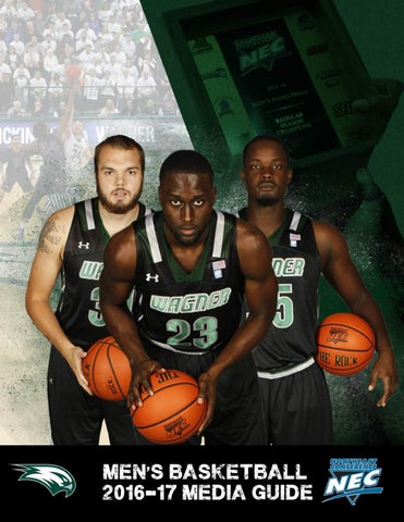 2016-17 Wagner College Men s Basketball Media Guide by Wagner ... 420ccb133