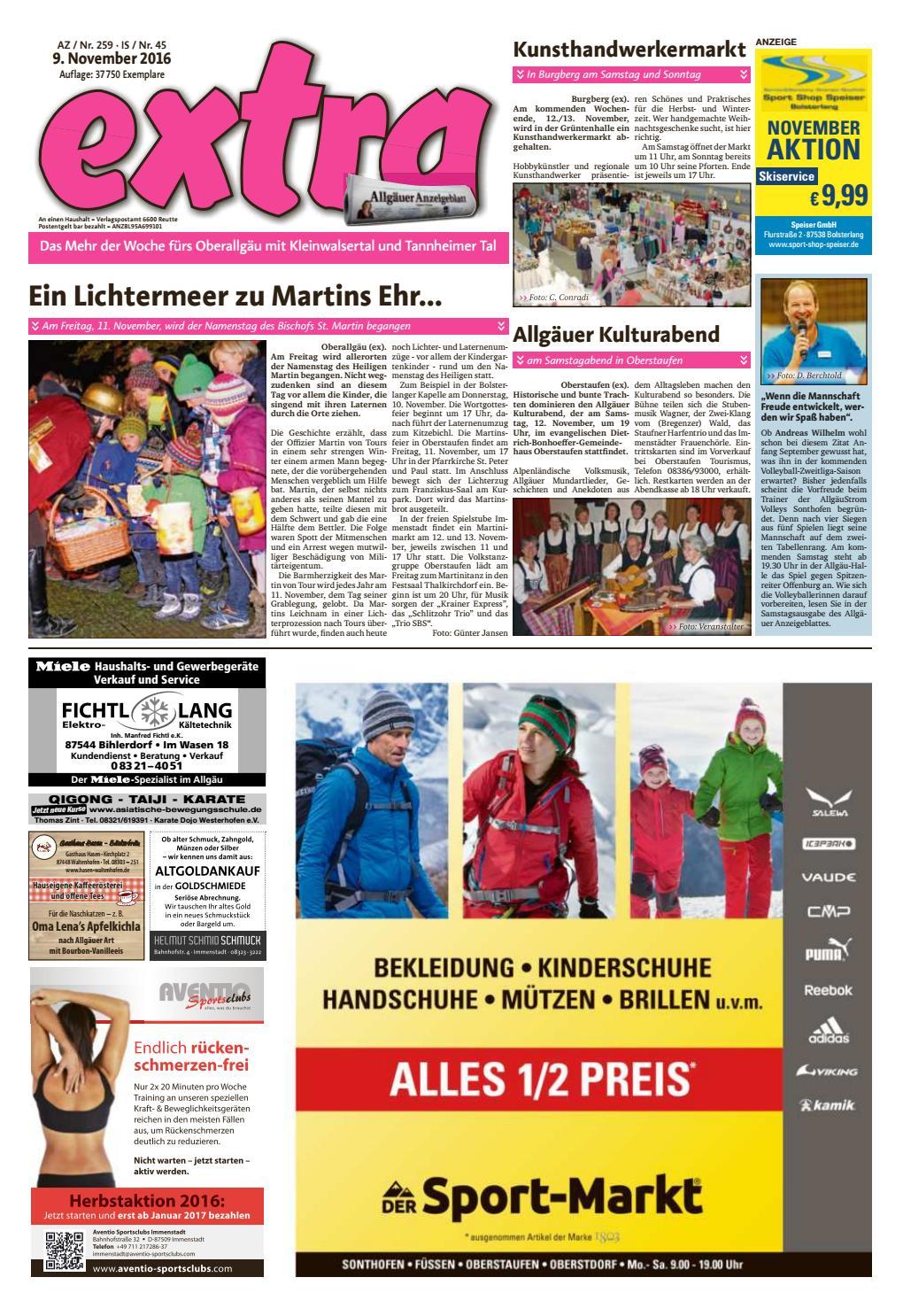 extra immenstadt vom mittwoch, 19. oktober by rta.design gmbh - issuu, Hause ideen