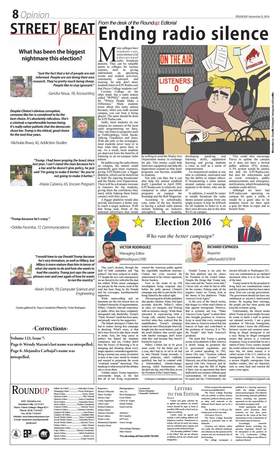 Issue 8 Volume 125 by Pierce Roundup - issuu