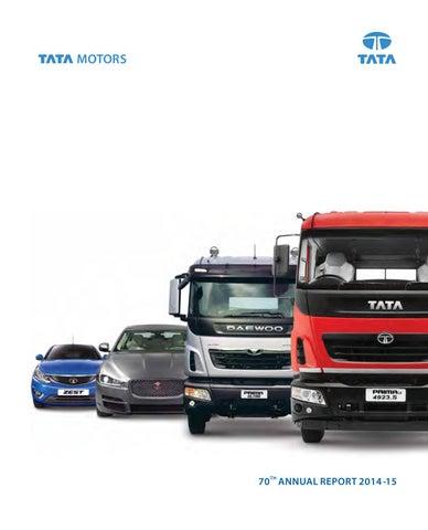 d8dabfa26377d Tata motors annual report 2014 15 by Andresafelipe01 - issuu