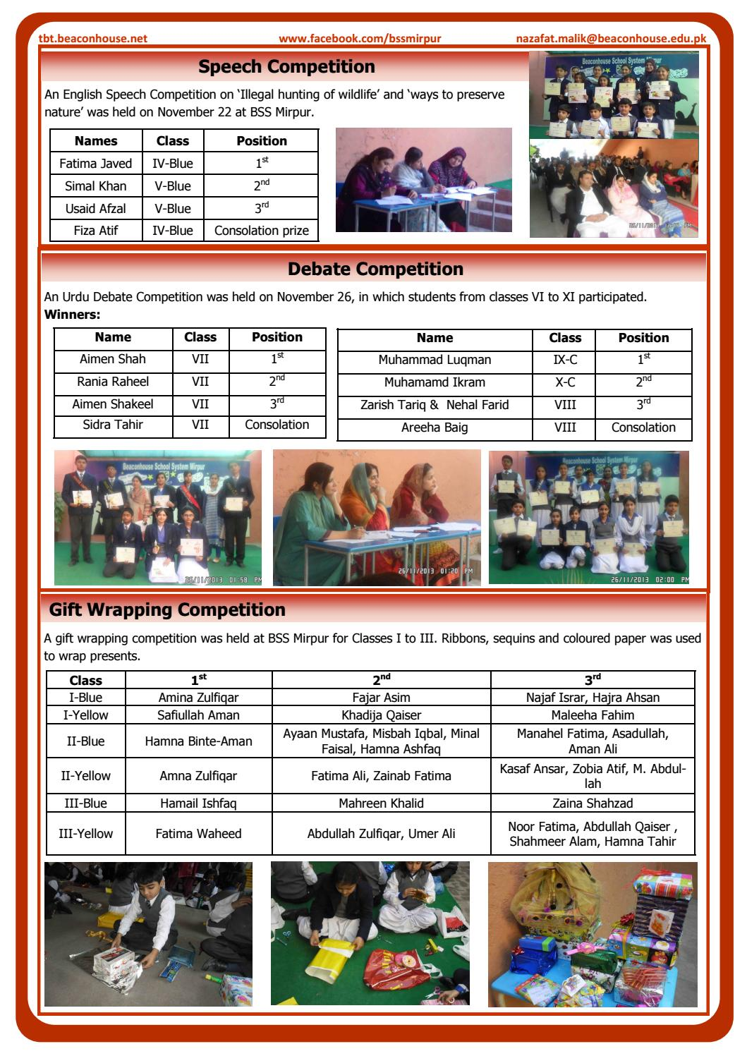 Newsletter 1st Term 2013-14 by Beaconhouse - issuu