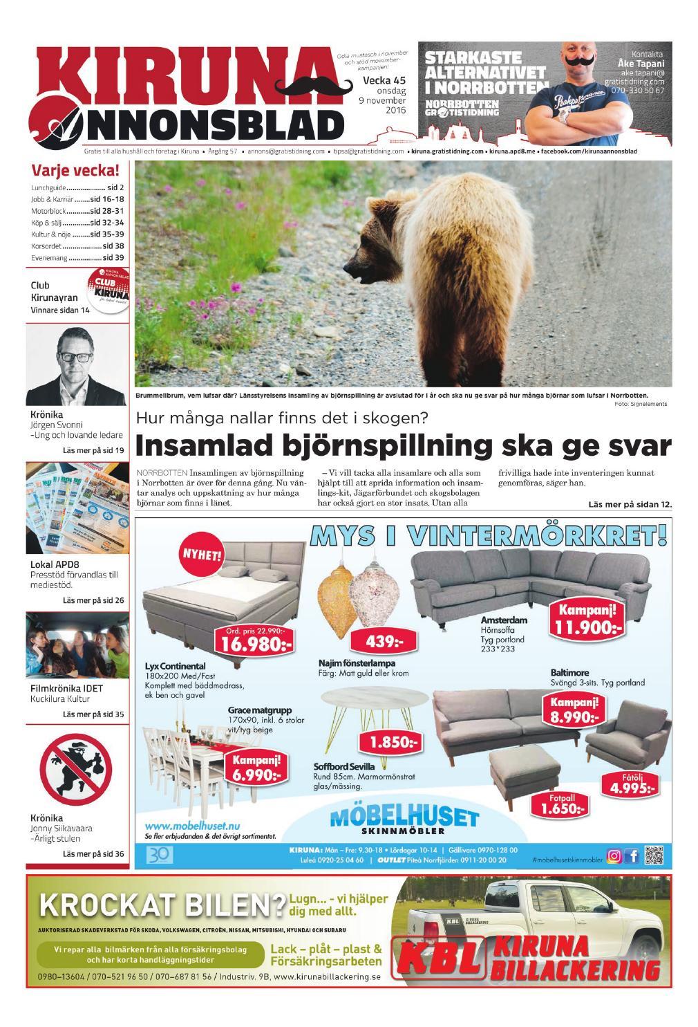 Kiruna Annonsblad by Svenska Civildatalogerna AB - issuu c64ab5fd09a24