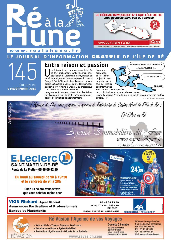 Ré à la Hune n° 145 by RHEA MARKETING - issuu