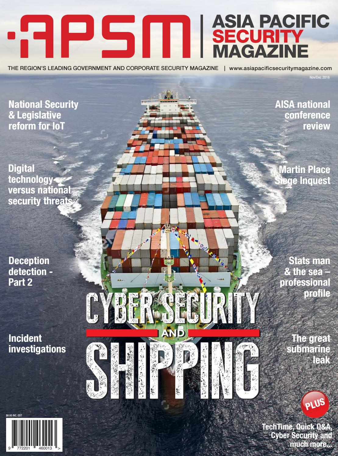 Asia Pacific Security Magazine Nov Dec 2016 By 433mhz Working Frequencyremote Start Motorcycle Alarmled Type Issuu