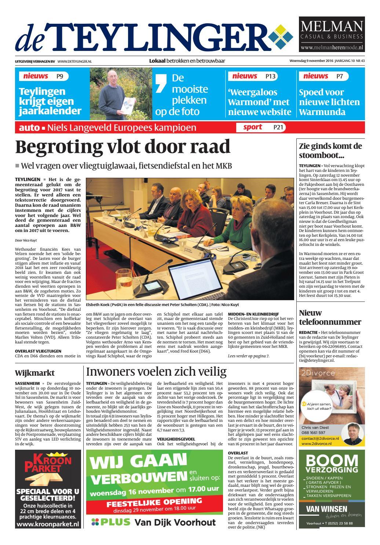 tl week 45 16 by uitgeverij verhagen issuu