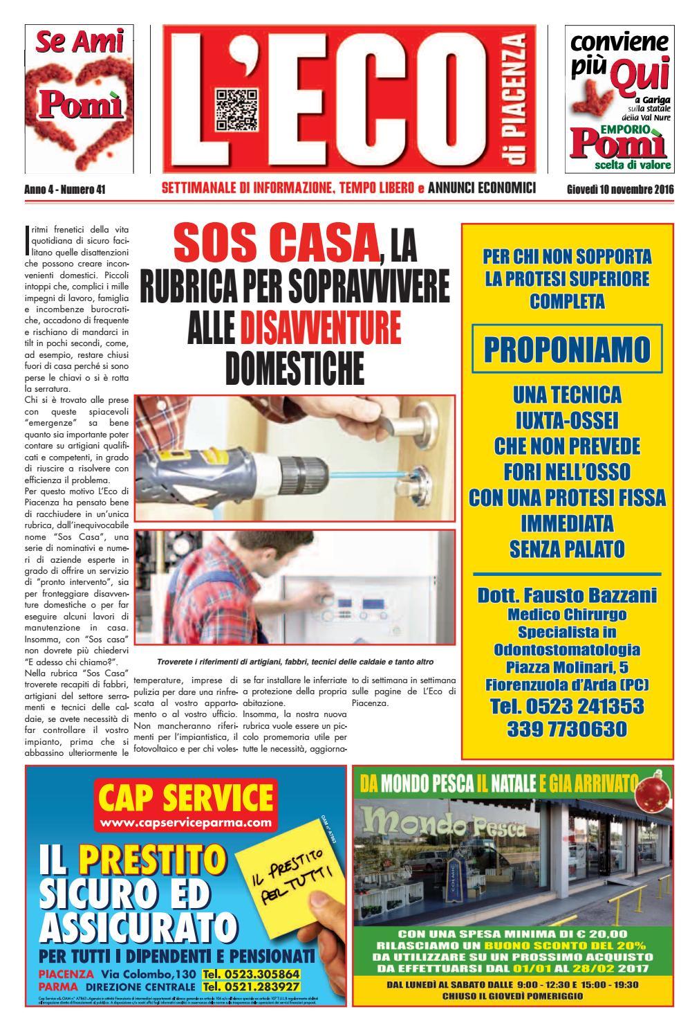 09f3d4902363c Eco di Piacenza 10 11 2016 by Eco di Piacenza - issuu