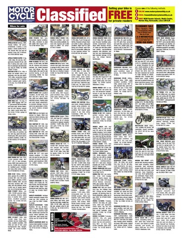 Motorcycle Monthly December 2016 by Mortons Media Group Ltd ... on