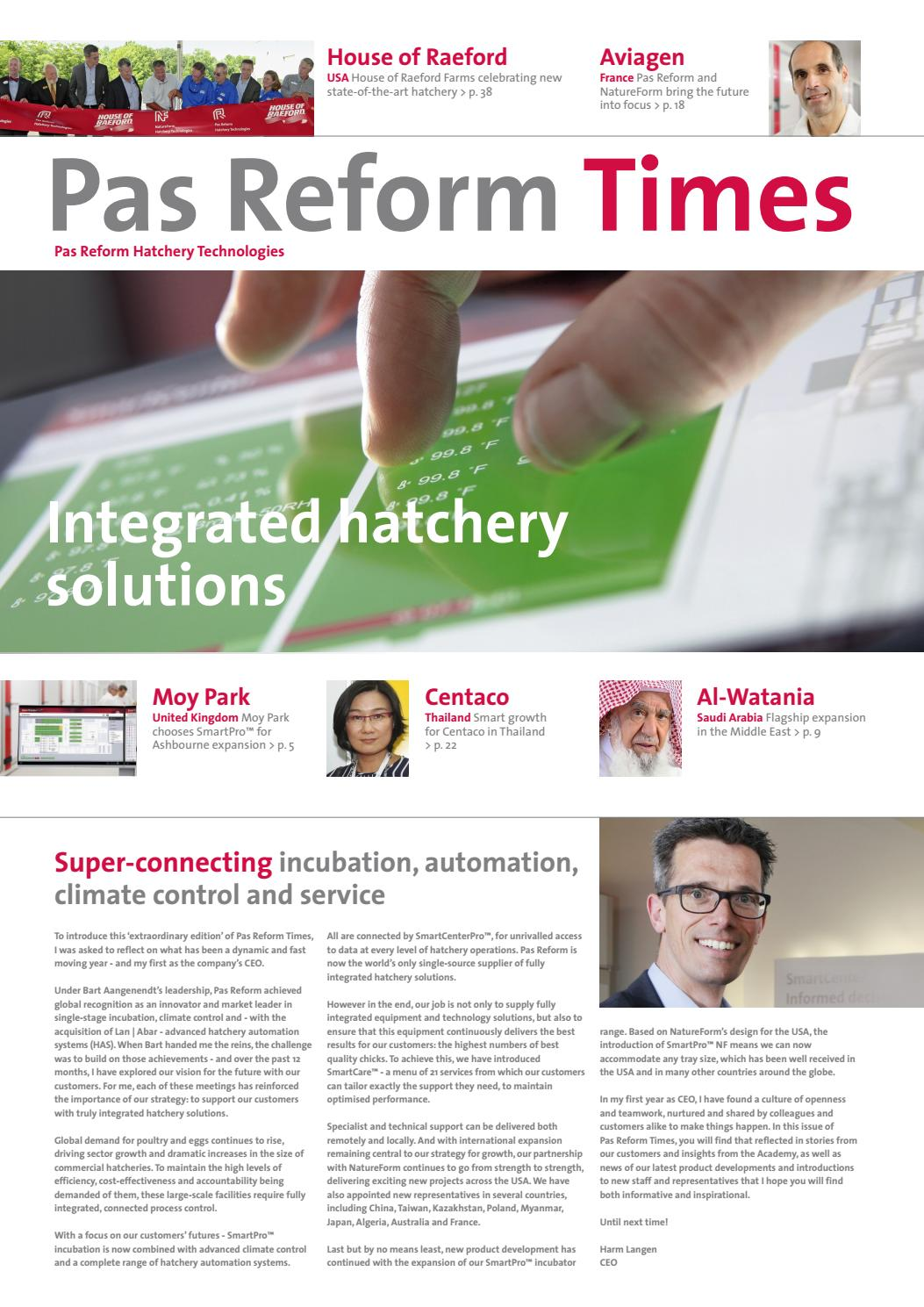Pas Reform Times 2016 By Hatchery Technologies
