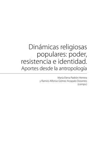 Libro Dinamicas Religiosas Populares Poder Resistencia E