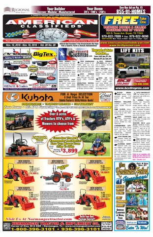 American Classifieds Nov  10th Edition Bryan/College Station by