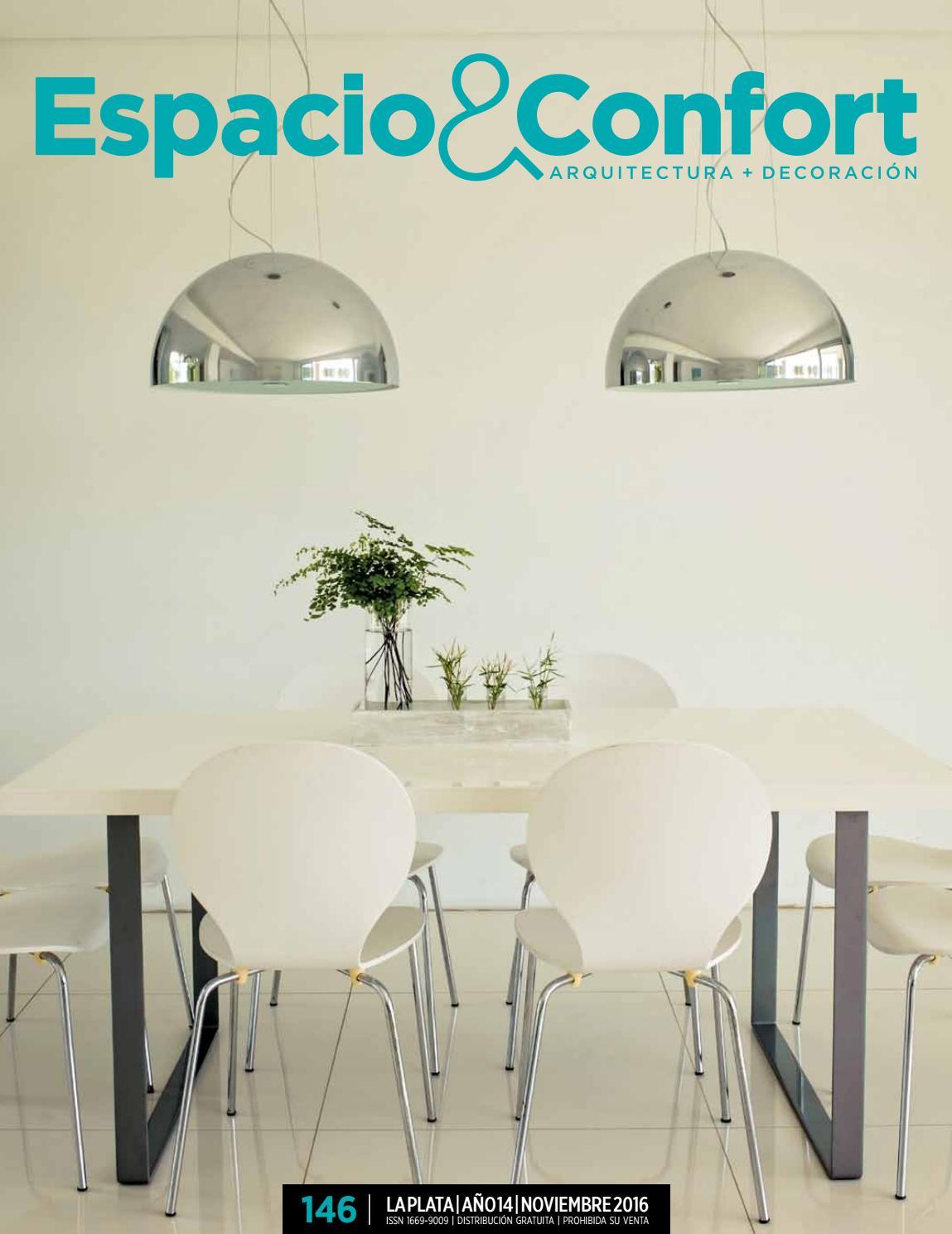 146 La Plata Noviembre 2016 By Revista Espacio Confort  # Muebles Luberto Mar Del Plata