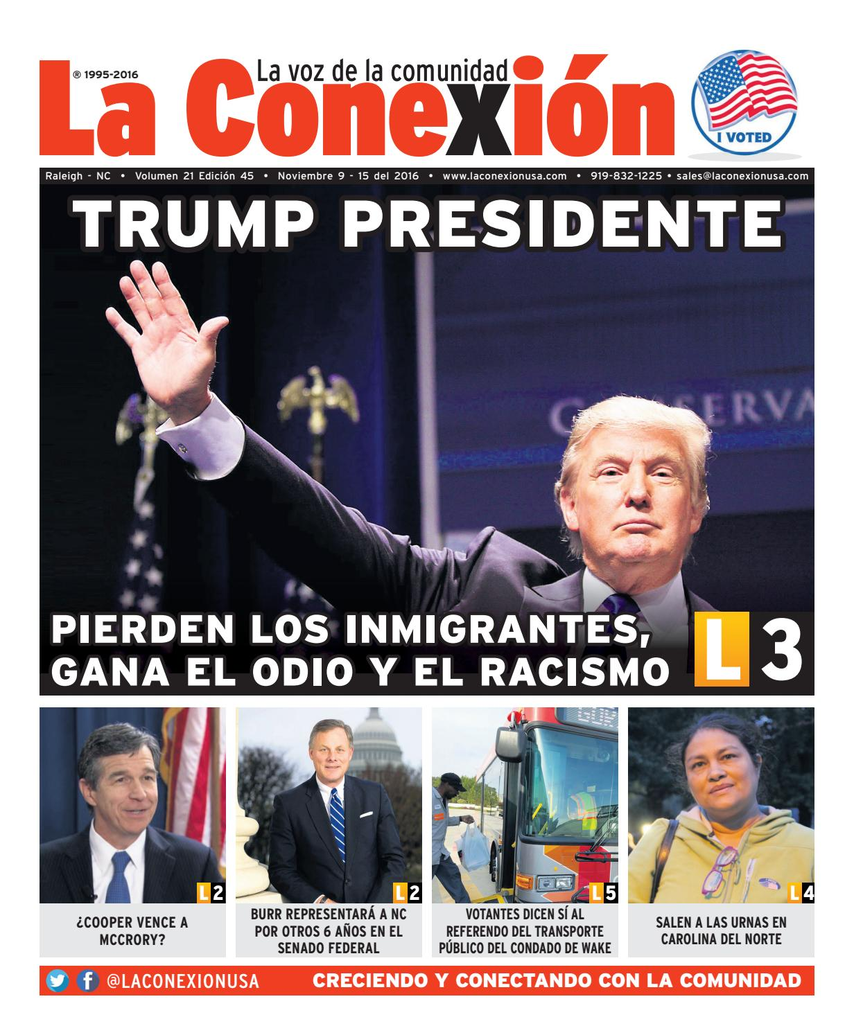 La Conexión 2016-11-09 by La Conexion USA - issuu